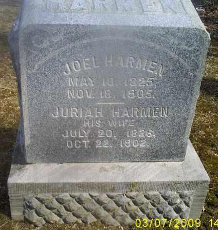 HARMEN, JURIAH - Hocking County, Ohio   JURIAH HARMEN - Ohio Gravestone Photos