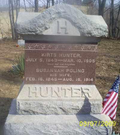 HUNTER, KIRTS - Hocking County, Ohio | KIRTS HUNTER - Ohio Gravestone Photos