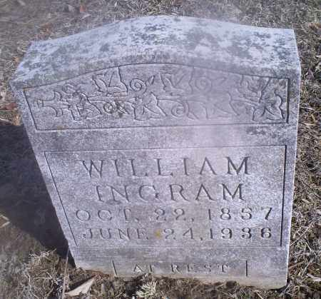 INGRAM, WILLIAM - Hocking County, Ohio | WILLIAM INGRAM - Ohio Gravestone Photos