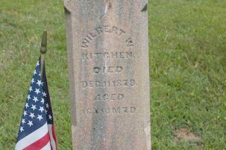 KITCHEN, WILBERT W. - Hocking County, Ohio | WILBERT W. KITCHEN - Ohio Gravestone Photos