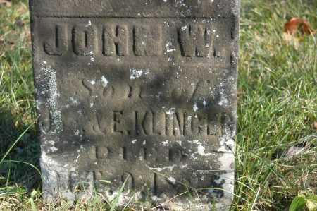 KLINGER, JOHN W - Hocking County, Ohio | JOHN W KLINGER - Ohio Gravestone Photos
