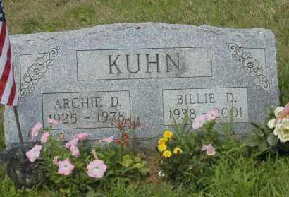KUHN, ARCHIE D. - Hocking County, Ohio | ARCHIE D. KUHN - Ohio Gravestone Photos