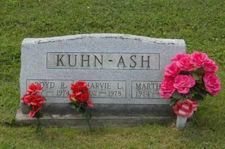 KUHN, MARTHA - Hocking County, Ohio   MARTHA KUHN - Ohio Gravestone Photos