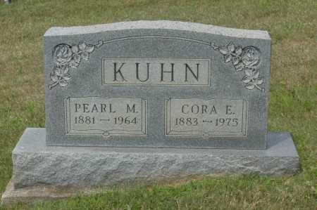 KUHN, CORA E. - Hocking County, Ohio   CORA E. KUHN - Ohio Gravestone Photos