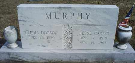 MURPHY, JESSE CARTER - Hocking County, Ohio | JESSE CARTER MURPHY - Ohio Gravestone Photos