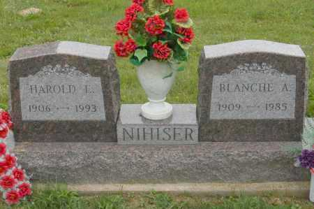 NIHISER, HAROLD E. - Hocking County, Ohio   HAROLD E. NIHISER - Ohio Gravestone Photos
