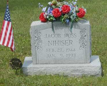 NIHISER, JACOB ROSS - Hocking County, Ohio | JACOB ROSS NIHISER - Ohio Gravestone Photos