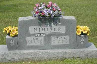 NIHISER, VELMA E. - Hocking County, Ohio | VELMA E. NIHISER - Ohio Gravestone Photos