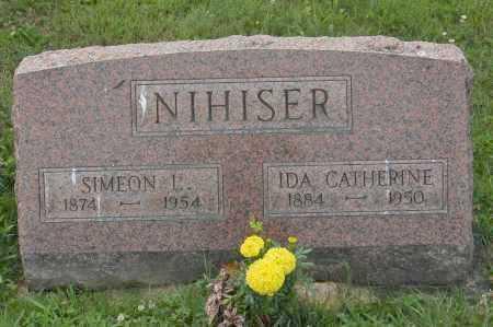 NIHISER, IDA CATHERINE - Hocking County, Ohio | IDA CATHERINE NIHISER - Ohio Gravestone Photos