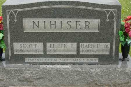 NIHISER, HAROLD JR - Hocking County, Ohio | HAROLD JR NIHISER - Ohio Gravestone Photos