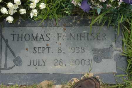 NIHISER, THOMAS F. - Hocking County, Ohio | THOMAS F. NIHISER - Ohio Gravestone Photos