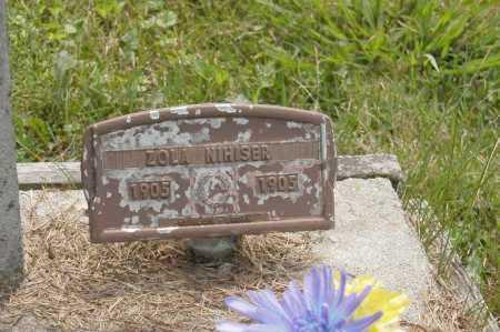 NIHISER, ZOLA - Hocking County, Ohio   ZOLA NIHISER - Ohio Gravestone Photos