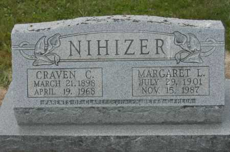NIHIZER, CRAVEN C. - Hocking County, Ohio | CRAVEN C. NIHIZER - Ohio Gravestone Photos