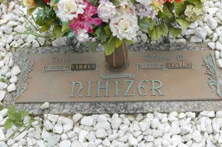 NIHIZER, CLARENCE R. - Hocking County, Ohio | CLARENCE R. NIHIZER - Ohio Gravestone Photos