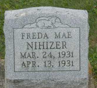 NIHIZER, FREDA MAE ( INFANT ) - Hocking County, Ohio | FREDA MAE ( INFANT ) NIHIZER - Ohio Gravestone Photos