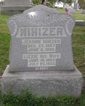 NIHIZER, LIZZIE - Hocking County, Ohio | LIZZIE NIHIZER - Ohio Gravestone Photos