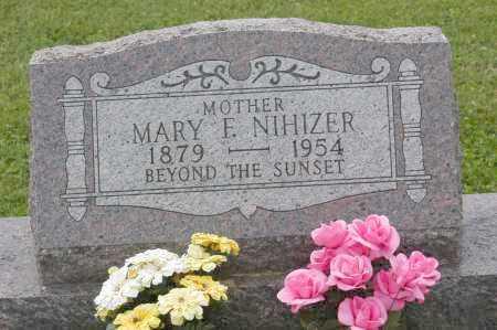 NIHIZER, MARY E. - Hocking County, Ohio   MARY E. NIHIZER - Ohio Gravestone Photos