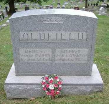 SATER OLDFIELD, MARY E. - Hocking County, Ohio | MARY E. SATER OLDFIELD - Ohio Gravestone Photos