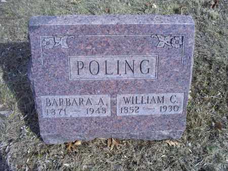 POLING, WILLIAM C. - Hocking County, Ohio | WILLIAM C. POLING - Ohio Gravestone Photos