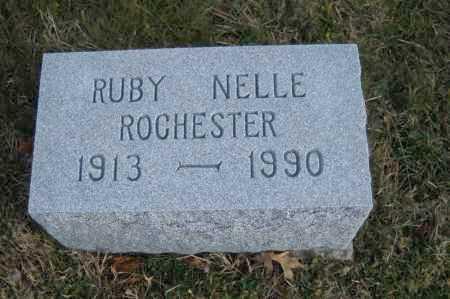 ROCHESTER, RUBY NELLE - Hocking County, Ohio   RUBY NELLE ROCHESTER - Ohio Gravestone Photos