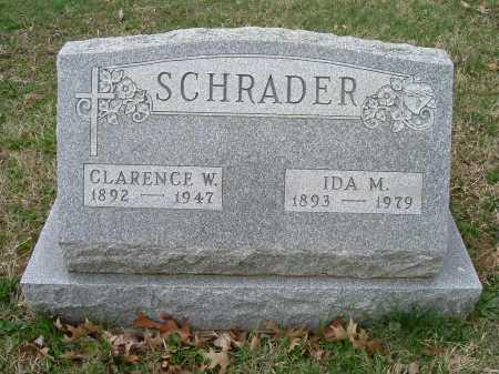 SCHRADER, CLARENCE - Hocking County, Ohio | CLARENCE SCHRADER - Ohio Gravestone Photos