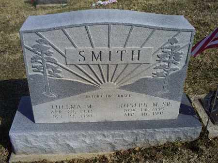 SMITH, THELMA M - Hocking County, Ohio | THELMA M SMITH - Ohio Gravestone Photos