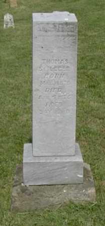 ST. LEGER, THOMAS - Hocking County, Ohio   THOMAS ST. LEGER - Ohio Gravestone Photos