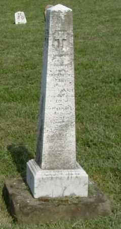 ST. LEGER, WILLAM J. - Hocking County, Ohio | WILLAM J. ST. LEGER - Ohio Gravestone Photos
