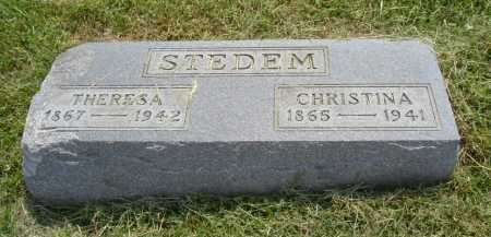 STEDEM, THERESA - Hocking County, Ohio | THERESA STEDEM - Ohio Gravestone Photos