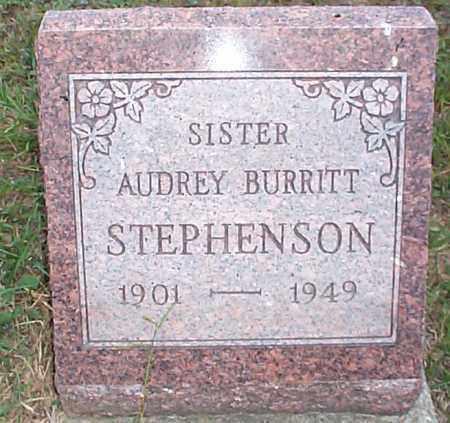 STEPHENSON, AUDREY - Hocking County, Ohio | AUDREY STEPHENSON - Ohio Gravestone Photos