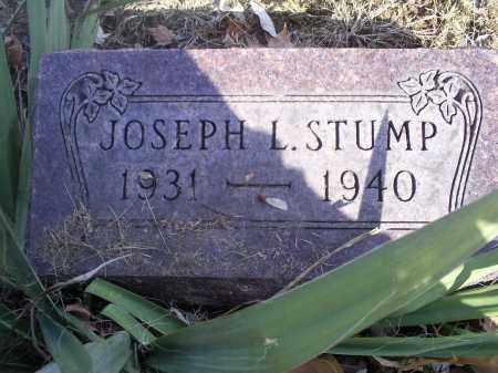 STUMP, JOSEPH L. - Hocking County, Ohio   JOSEPH L. STUMP - Ohio Gravestone Photos