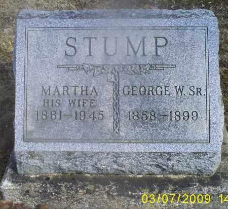 STUMP, MARTHA - Hocking County, Ohio | MARTHA STUMP - Ohio Gravestone Photos