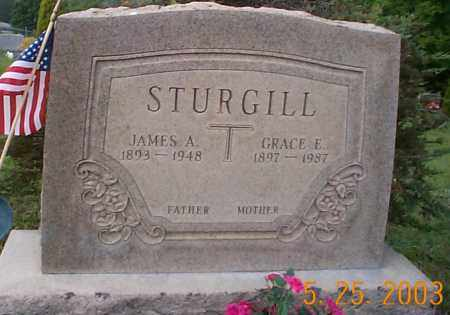 STURGILL, JAMES A. - Hocking County, Ohio | JAMES A. STURGILL - Ohio Gravestone Photos