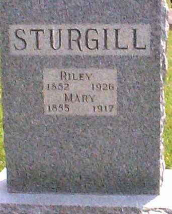 STURGILL, MARY - Hocking County, Ohio | MARY STURGILL - Ohio Gravestone Photos