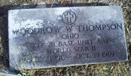THOMPSON, WOODROW W. - Hocking County, Ohio   WOODROW W. THOMPSON - Ohio Gravestone Photos