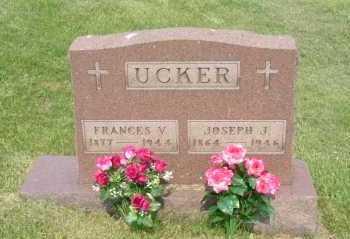 UCKER, FRANCES V. - Hocking County, Ohio | FRANCES V. UCKER - Ohio Gravestone Photos