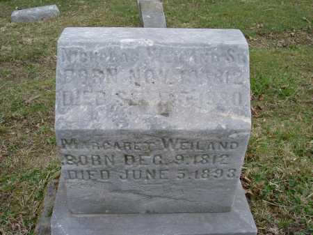 "SHORR WEILAND, MARGARET ""MARGARETHA"" - Hocking County, Ohio 