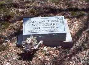 ROSE WOODGEARD, MARGARET - Hocking County, Ohio | MARGARET ROSE WOODGEARD - Ohio Gravestone Photos