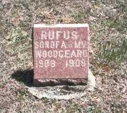 WOODGEARD, RUFUS - Hocking County, Ohio   RUFUS WOODGEARD - Ohio Gravestone Photos