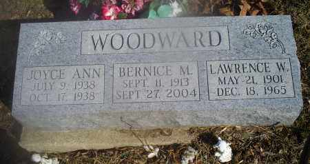 WOODWARD, BERNCE M. - Hocking County, Ohio | BERNCE M. WOODWARD - Ohio Gravestone Photos