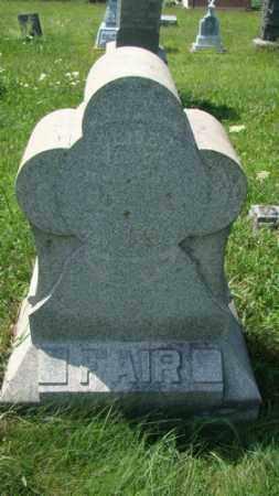 FAIR, OLIVER - Holmes County, Ohio | OLIVER FAIR - Ohio Gravestone Photos