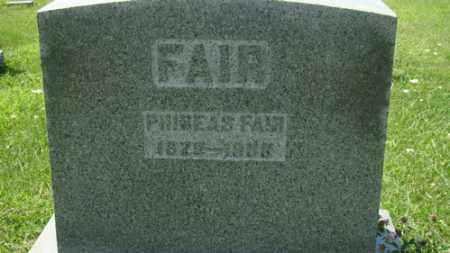 FAIR, PHINEAS - Holmes County, Ohio | PHINEAS FAIR - Ohio Gravestone Photos
