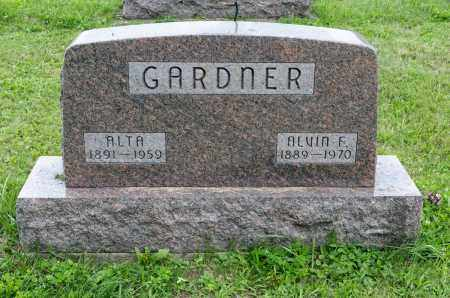 GARDNER, ALVIN F. - Holmes County, Ohio | ALVIN F. GARDNER - Ohio Gravestone Photos