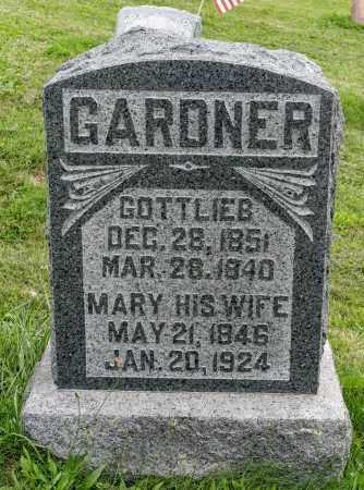 GARDNER, GOTTLIEB - Holmes County, Ohio | GOTTLIEB GARDNER - Ohio Gravestone Photos