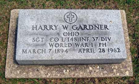 GARDNER, HARRY W. - Holmes County, Ohio | HARRY W. GARDNER - Ohio Gravestone Photos