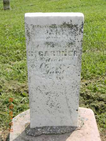 GARDNER, JANE - Holmes County, Ohio   JANE GARDNER - Ohio Gravestone Photos