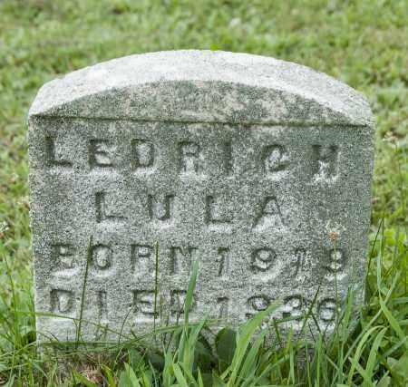 LEDRICH, LULA - Holmes County, Ohio | LULA LEDRICH - Ohio Gravestone Photos