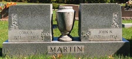 MARTIN, CORA A - Huron County, Ohio | CORA A MARTIN - Ohio Gravestone Photos