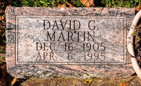 MARTIN, DAVID G - Huron County, Ohio | DAVID G MARTIN - Ohio Gravestone Photos