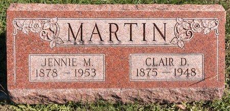 MARTIN, CLAIR D - Huron County, Ohio | CLAIR D MARTIN - Ohio Gravestone Photos